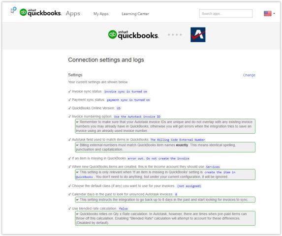 Autotask Invoices To QuickBooks Online - Invoice app that syncs with quickbooks